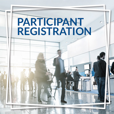 Participant registration with Easydus